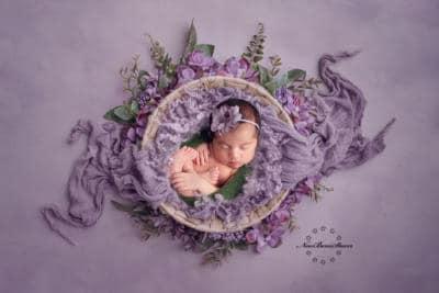 pasgeboren baby foto