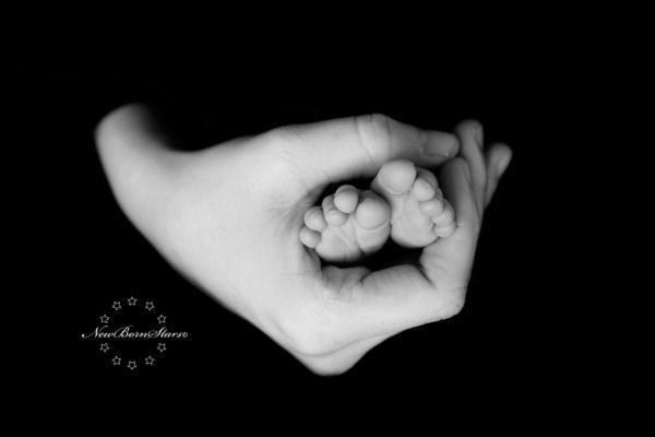 Newborn familiefotografie