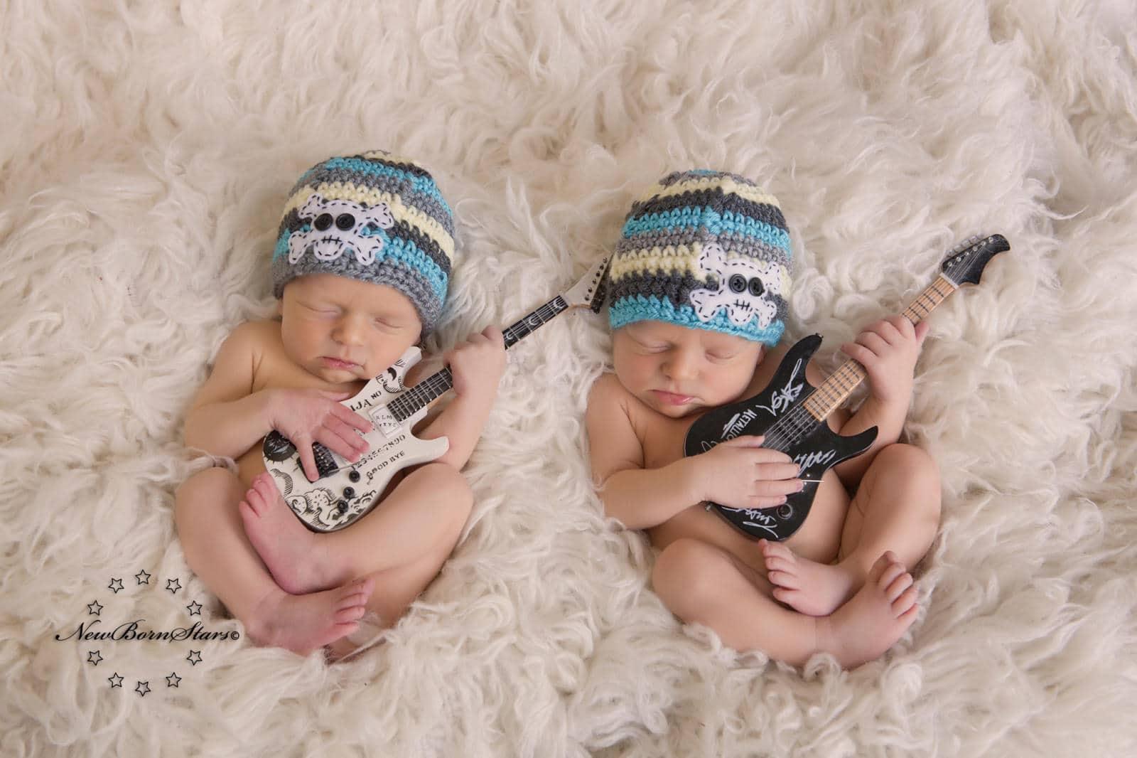 tweeling newborn fotografie