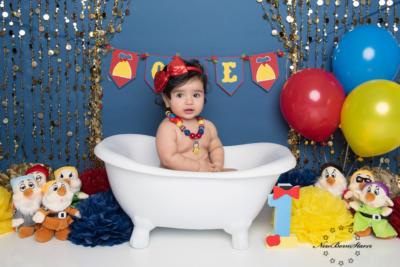 prinsessen cake smash fotografie
