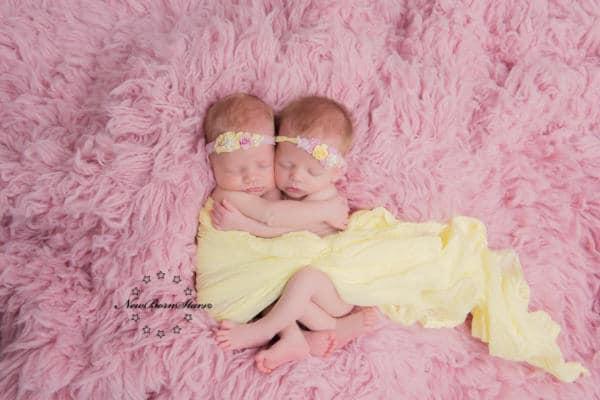 pas geboren tweeling